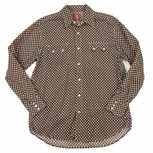 Lucky Brand Pearl Snap Western Shirt L
